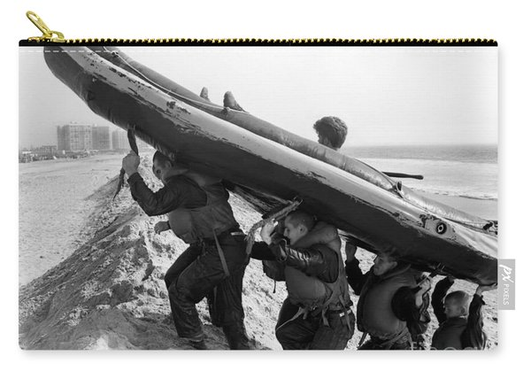 Buds Students Carry An Inflatable Boat Carry-all Pouch