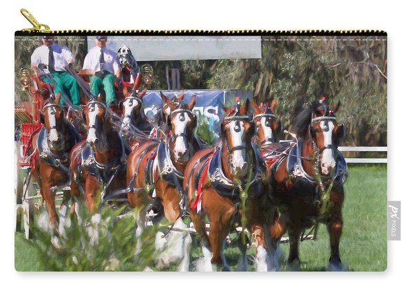 Budweiser Clydesdales Perfection Carry-all Pouch