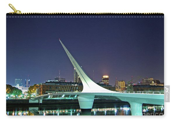 Buenos Aires - Argentina - Puente De La Mujer At Night Carry-all Pouch
