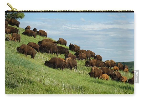 Buffalo Herd Carry-all Pouch