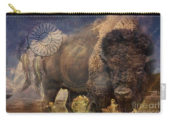 Buffalo Medicine 2015 Carry-all Pouch