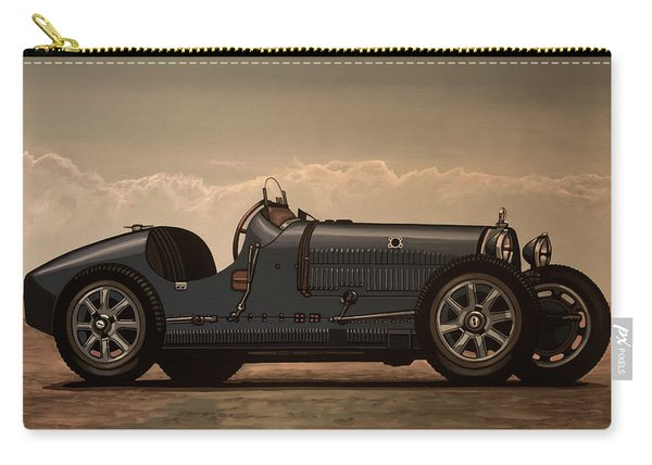 Bugatti Type 35 1924 Mixed Media Carry-all Pouch