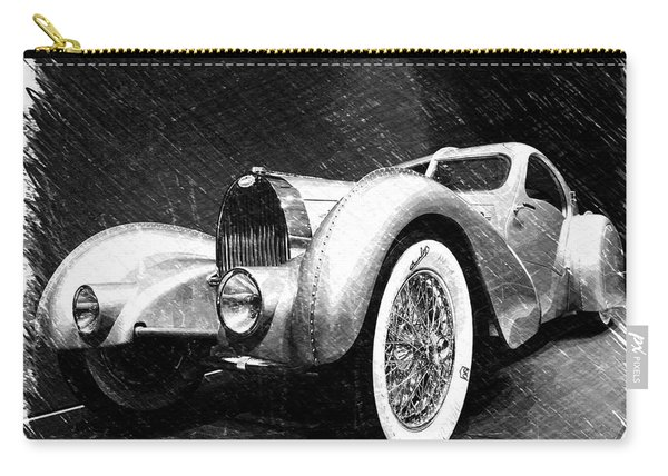 Bugatti Type 57 Aerolithe Carry-all Pouch