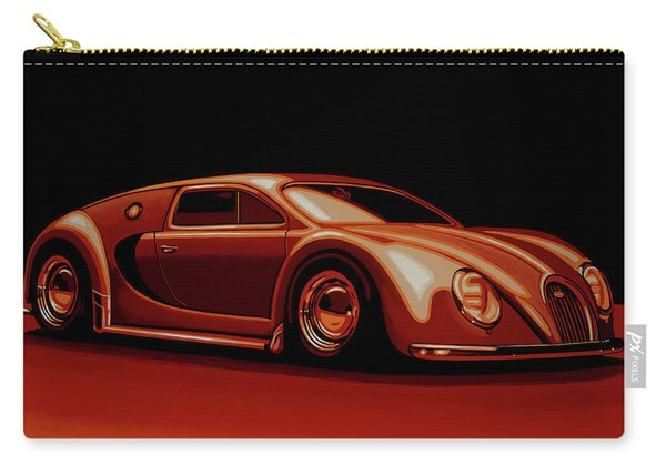 Bugatti Veyron 'beetgatti' 1945 Painting Carry-all Pouch