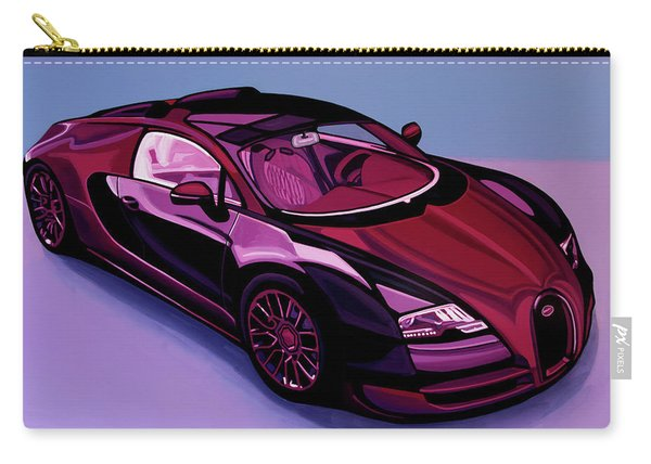 Bugatti Veyron 2005 Painting Carry-all Pouch