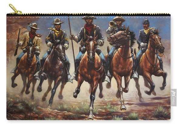 Bugler And The Guidon Carry-all Pouch