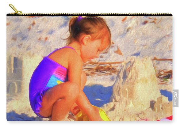 Building Sand Castles Carry-all Pouch