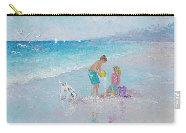 Building Sandcastles Carry-all Pouch