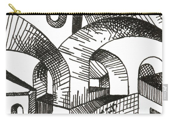 Buildings 1 2015 - Aceo Carry-all Pouch