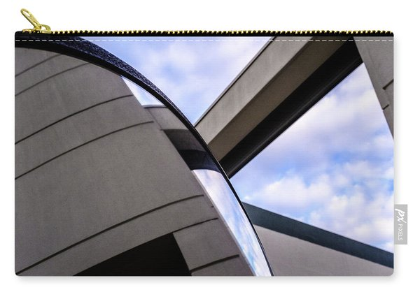 Buildings And Shapes With A Blue Sky In Orlando Florida Carry-all Pouch