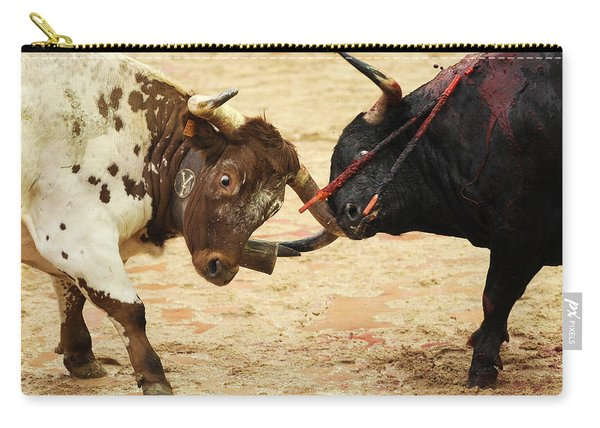 Bull Fight Carry-all Pouch