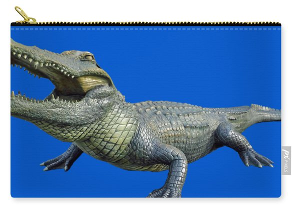 Bull Gator Transparent For T Shirts Carry-all Pouch