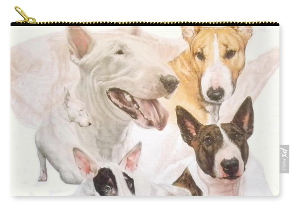 Bull Terrier Medley Carry-all Pouch