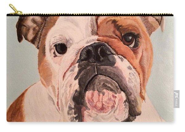 Bulldog Beauty Carry-all Pouch