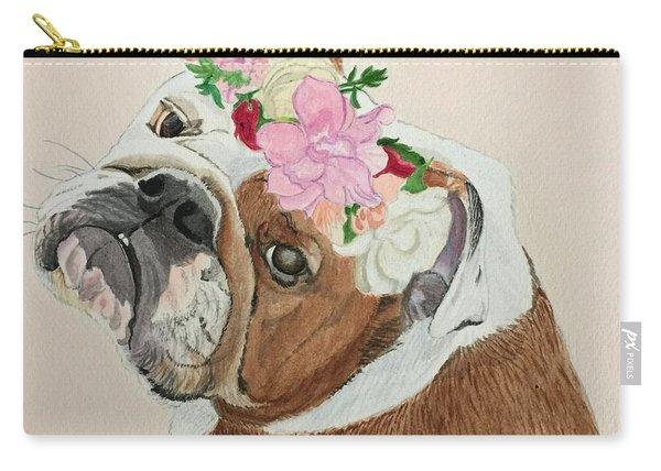 Bulldog Bridesmaid Carry-all Pouch