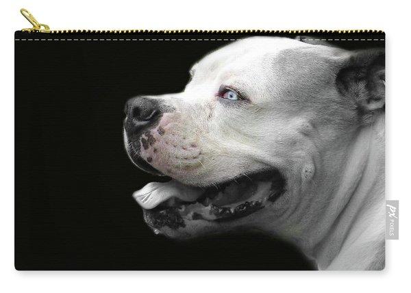 Bulldog Sando  Portrait  Carry-all Pouch