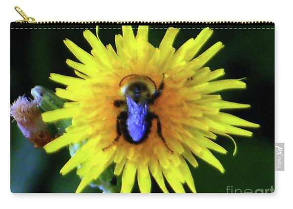 Bullseye Bumblebee Dandelion Carry-all Pouch