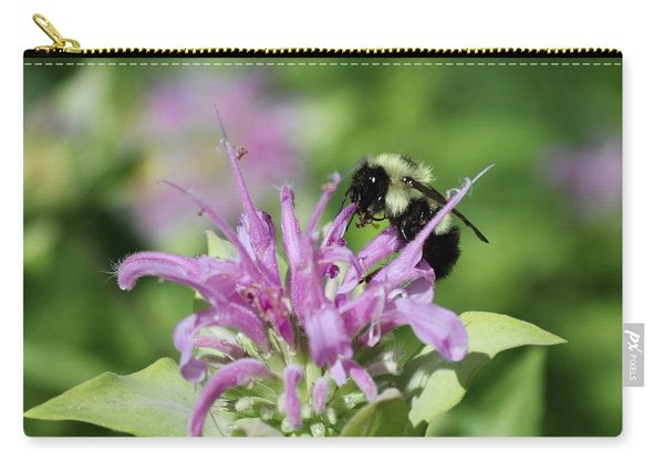 Bumblebee On Bee Balm Carry-all Pouch