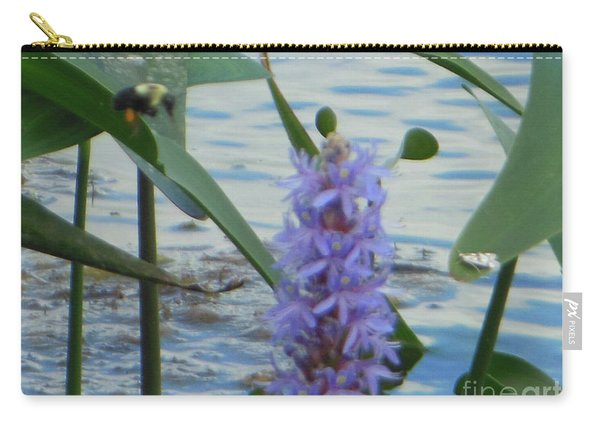 Bumblebee Pickerelweed Moth Carry-all Pouch