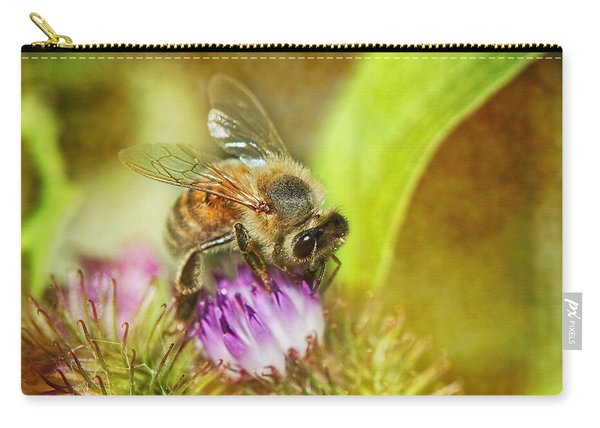 Bumbling Bee Carry-all Pouch