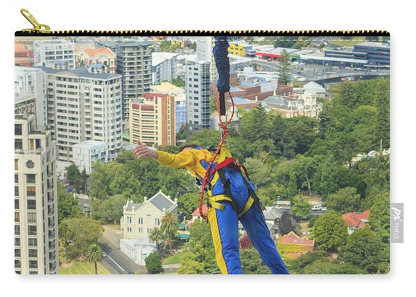 Bungee Jumper In Auckland Carry-all Pouch