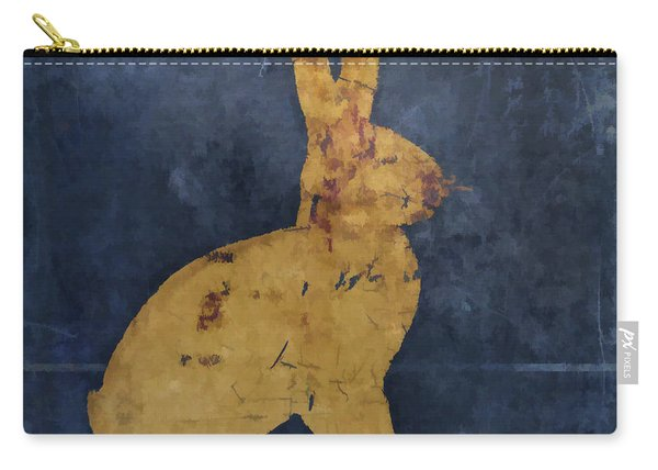 Bunny In Blue Carry-all Pouch