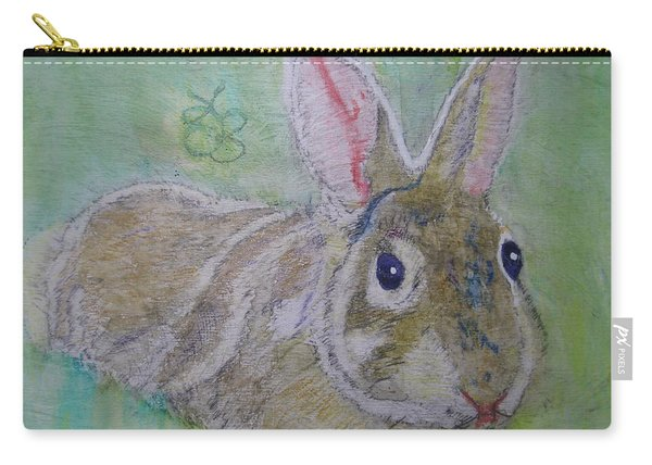 bunny named Rocket Carry-all Pouch