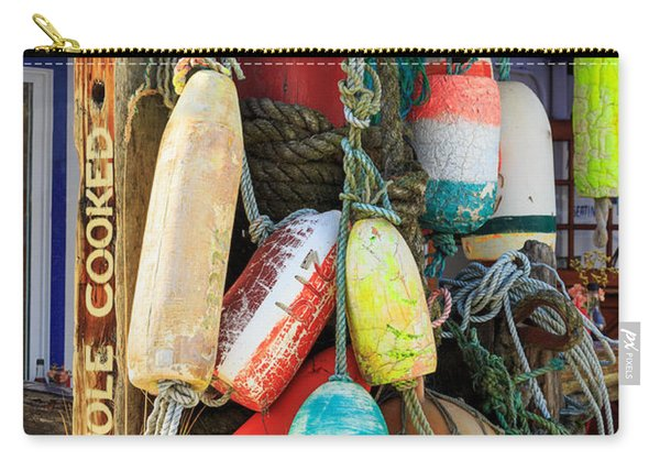 Buoys At The Crab Shack Carry-all Pouch