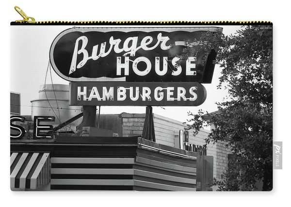 Burger House B W 062218 Carry-all Pouch