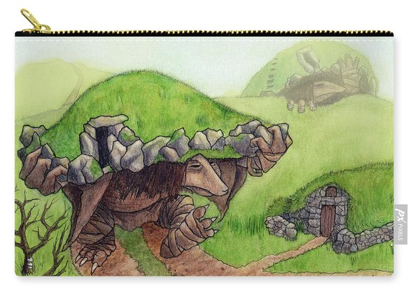 Burial Mound Trolls Carry-all Pouch