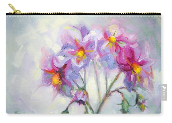 Carry-all Pouch featuring the painting Buried Treasure by Talya Johnson