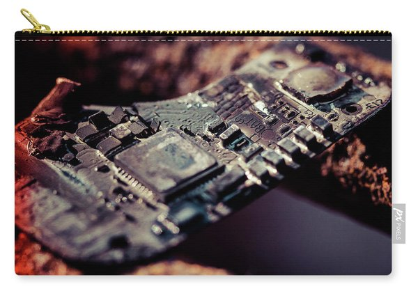 Burning Circuitry Carry-all Pouch