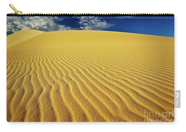 Carry-all Pouch featuring the photograph Burning Up At The White Sand Dunes - Mui Ne, Vietnam, Southeast Asia by Sam Antonio Photography