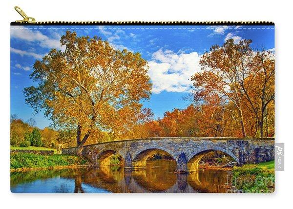 Burnside Bridge At Antietam Carry-all Pouch