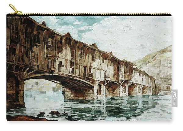 Burnt Covered Bridge Carry-all Pouch