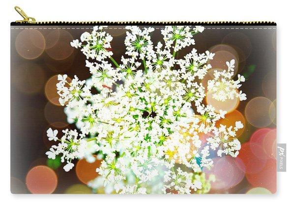 Burst Of Light Kaleidoscope Carry-all Pouch