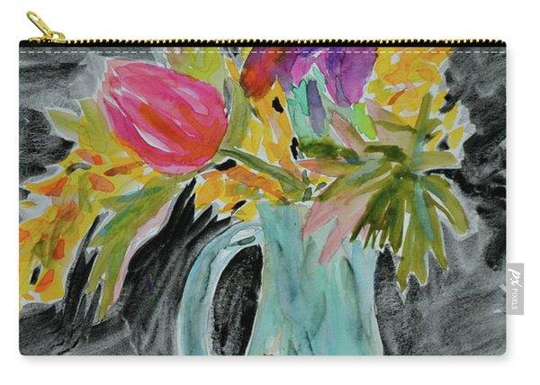Bursting Bouquet Carry-all Pouch