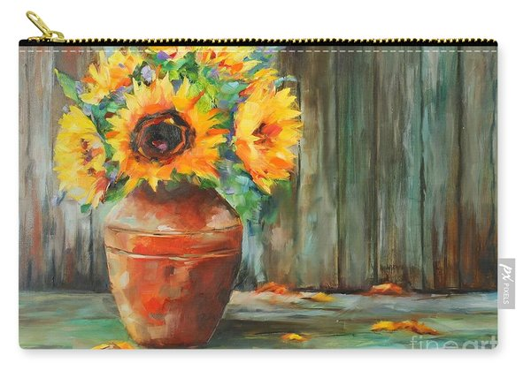 Bursts Of Sunshine Carry-all Pouch