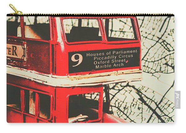 Bus Line Art Carry-all Pouch