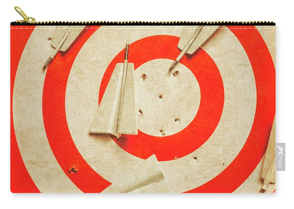 Business Target Practice Carry-all Pouch