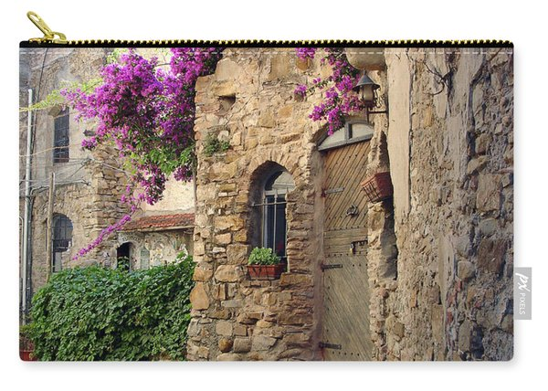 Bussana Vecchia Street Carry-all Pouch