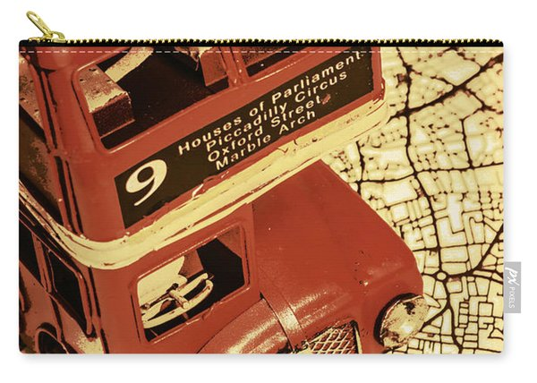 Bussing Britain Carry-all Pouch