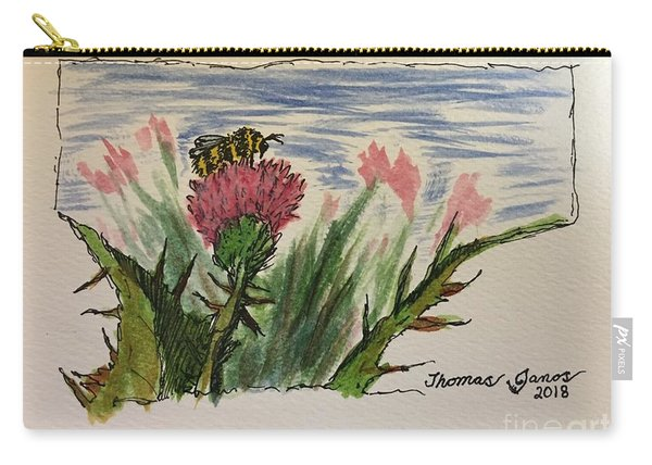 Busy Bumblebee  Carry-all Pouch