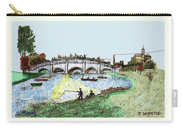 Busy Richmond Bridge Carry-all Pouch