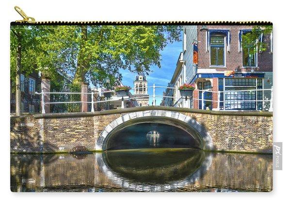 Butter Bridge Delft Carry-all Pouch