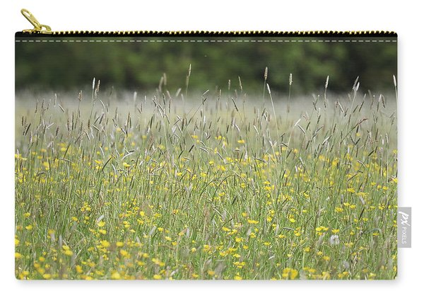 Buttercup Meadow Carry-all Pouch