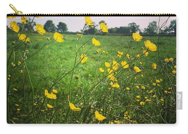 Buttercups Meadow Carry-all Pouch