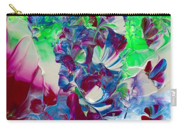 Butterflies, Fairies And Flowers Carry-all Pouch