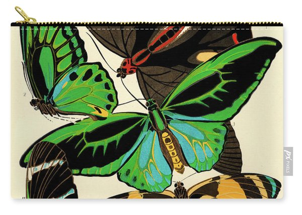 Butterflies, Plate-1 Carry-all Pouch