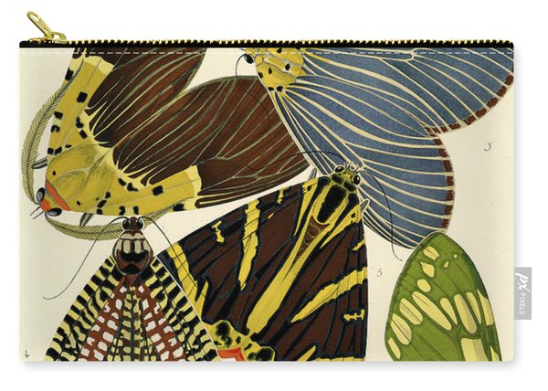 Butterflies, Plate-14 Carry-all Pouch